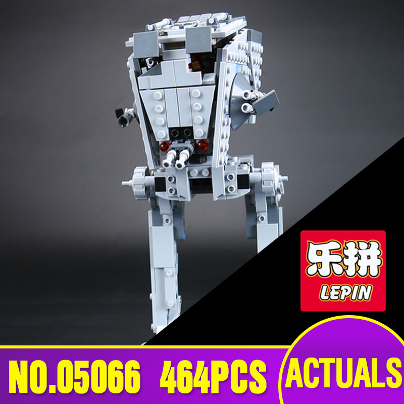 Lepin 05066 Star 464Pcs War Series The Rogue One AT-ST Walker Set 75153 Educational Building Blocks Bricks Toys Gift w 29 at at walker style wall sticker