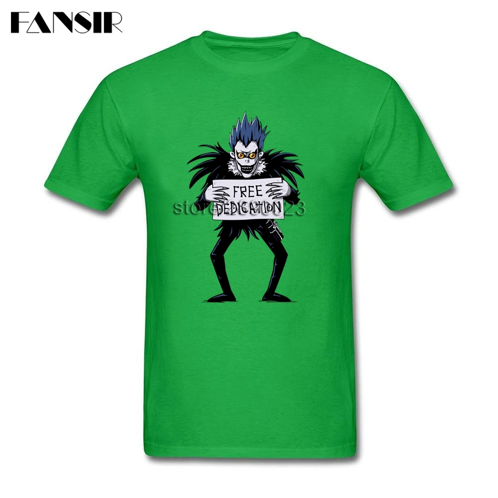 Death Note Men T Shirts Latest Design T Shirt Men Male Short Sleeve Cotton Custom Over Size Clothes Tops For Team