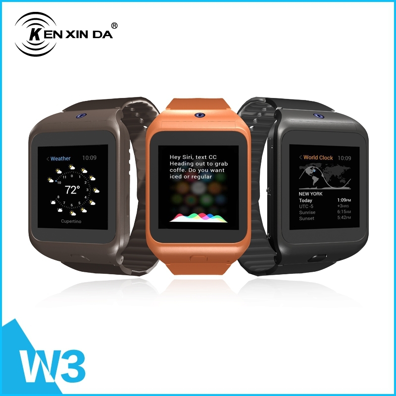 € 52 68 |Scratch Resistant Smart KenXinDa W3 phone Watch 1 44 inch  Capacitive Touch Screen Buletooth Watch Phone with Camera en Relojes  inteligentes