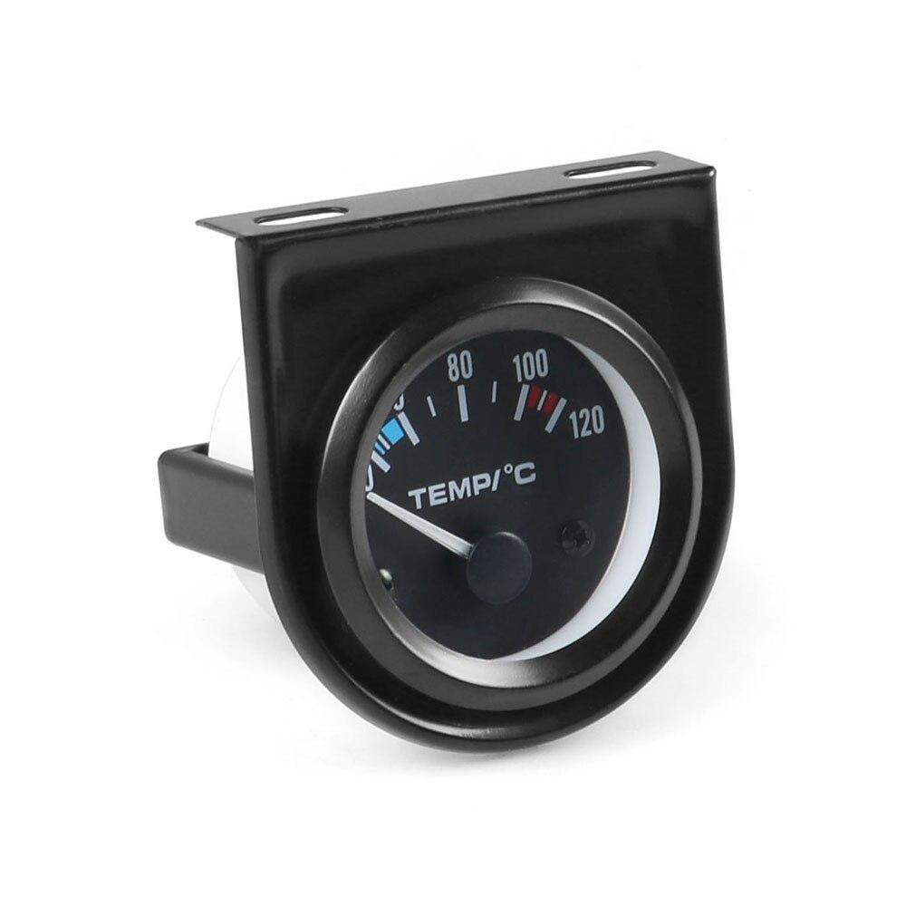 """"""" 52 мм Датчик температуры воды 40-120C указатель Авто температура воды датчик температуры белый светодиодный автомобильный метр"""