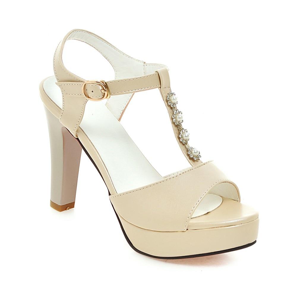2018 ladies Sandalias T-strap shoes girls wedding thin High Heels Women Sandals summer shoes woman