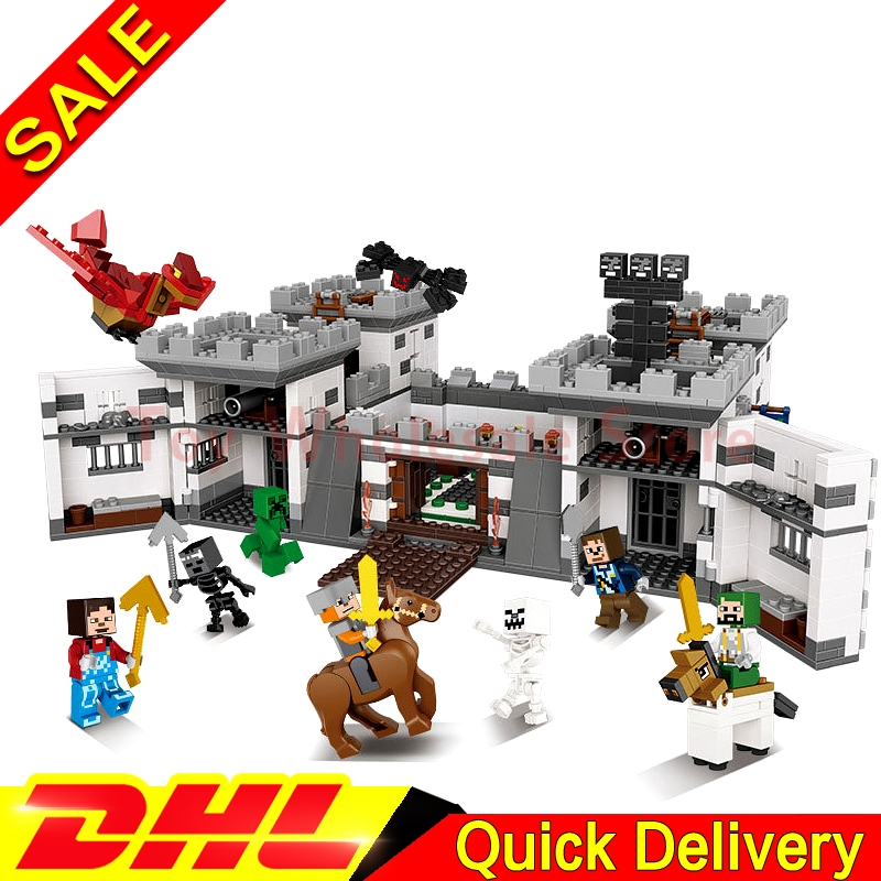 Xingbao 09005 The Castle of Holy War Set Educational Building Blocks Bricks Toys Children Gift Clone Lepin Gift sticker keys to the castle