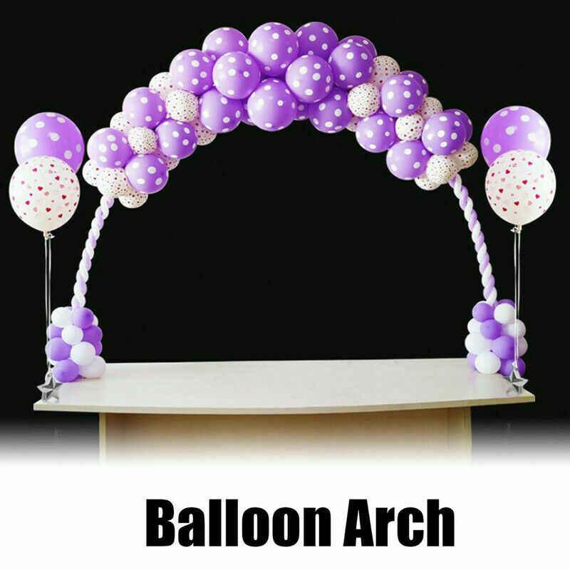 Grande Coluna Conjunto Clipe do Suporte Kit Quadro do Arco Do Balão de Aniversário Festa de Casamento Decoração de Venda Quente