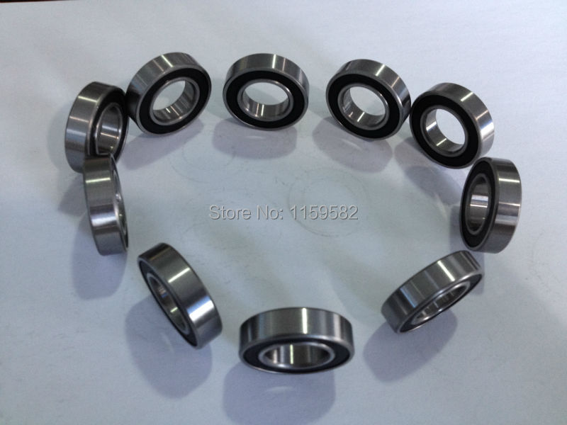 High Speed Motor Bearing 6200 2RS 10X30X9MM 6200-2RS 6200RS 6200 RS 10X30X9 MM 10*30*9MM 10*30*9 MM