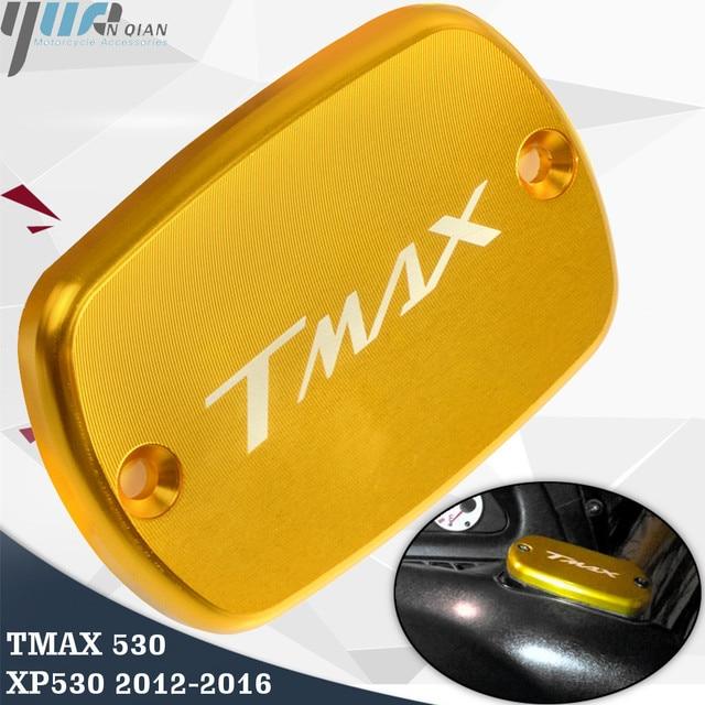 TMAX 530 XP530 Tampa Tampa Do Tanque Reservatório De Fluido de Freio Para Yamaha Tmax Tmax530 XP530 530 2012 13 14 15 2016 peças da motocicleta
