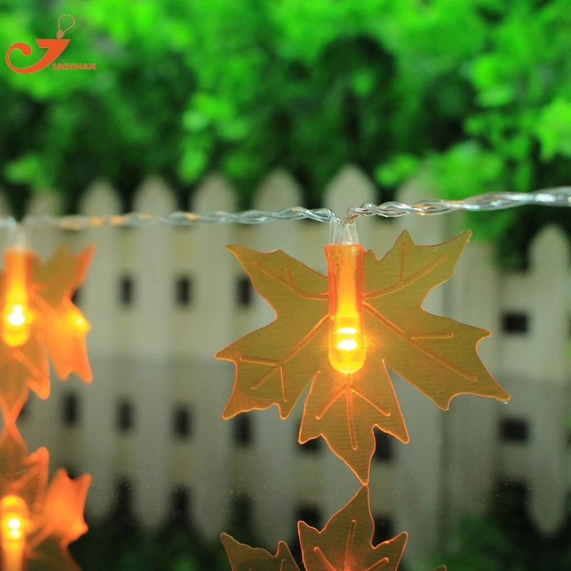 Popular Autumn Leaf Lights-Buy Cheap Autumn Leaf Lights lots from China Autumn Leaf Lights ...