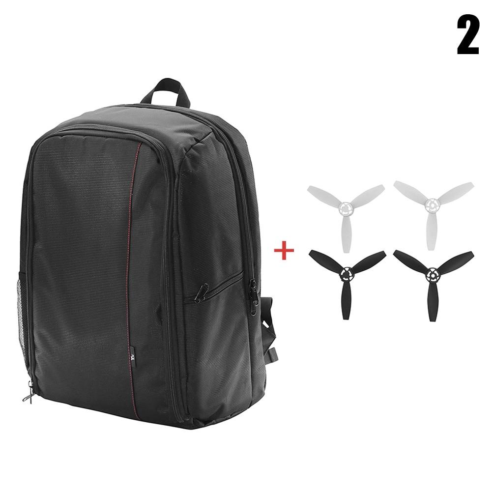 Chiic Sac /à Dos portatif Sac /à Dos de Drone Sac /à bandouli/ère pour Accessoires de Drone Bebop 2 FPV A /étui de Transport Sac /à Dos de Voyage