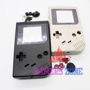 Image 2 - Zwart Grijs Oem Nieuwe Volledige Behuizing Shell Case Voor Nintendo Gameboy Classic Voor Gb Dmg Gbo