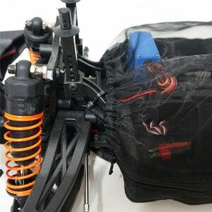 Image 3 - Wodoodporna pokrywa ochronna nylonowa osłona przeciwpyłowa do samochodu 1/10 TEAM MAGIC TM E5HX i E5 RC