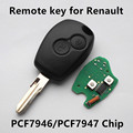 Car Remote Key 433MHz 2 buttons for Renault Megane Modus Clio Kangoo Logan Sandero Duster Keyless Entry Fob