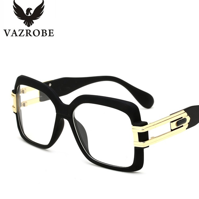 5cb0643375a Vazrobe Oversized Eyeglass Frames Women Brand Women s Designer Eyeglass  Frame Glasses with Transparent Glasses Optical Lens Big