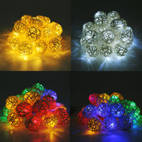 Hot style chinlon 20 led twinkle light cane battery box of indoor decorative light string of Christmas lamp series