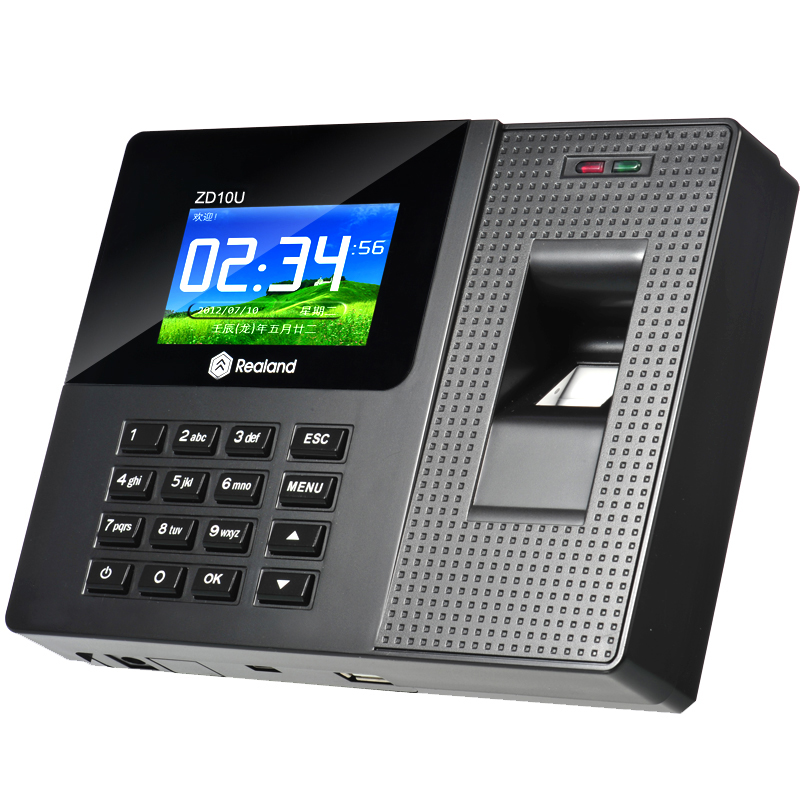 Free Shipping A-C010 2.8 Screen Biometric Fingerprint Time Attendance USB Office Time Recorder a c010 fingerprint time attendance time recorder attendance system business staff biometric time attendance