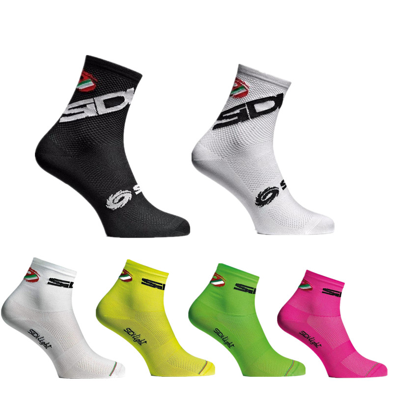 New Summer Shorts Cycling Socks Men Women Breathable Bikes Socks