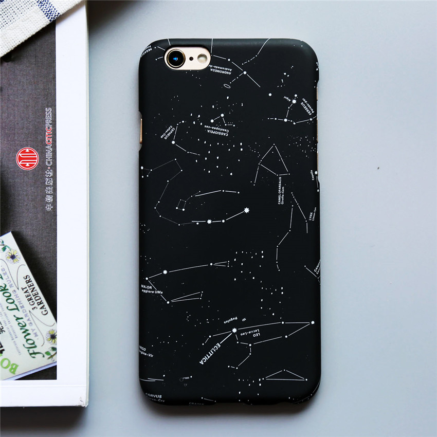 Fashion Stars Sky Constellation Cover Moon Space Splice