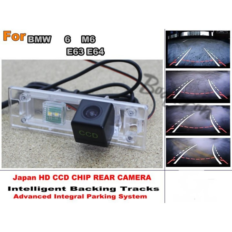 For BMW 6 Series M6 E63 E64 Intelligent Car Parking Camera / with Tracks Module Rear Camera CCD Night Vision