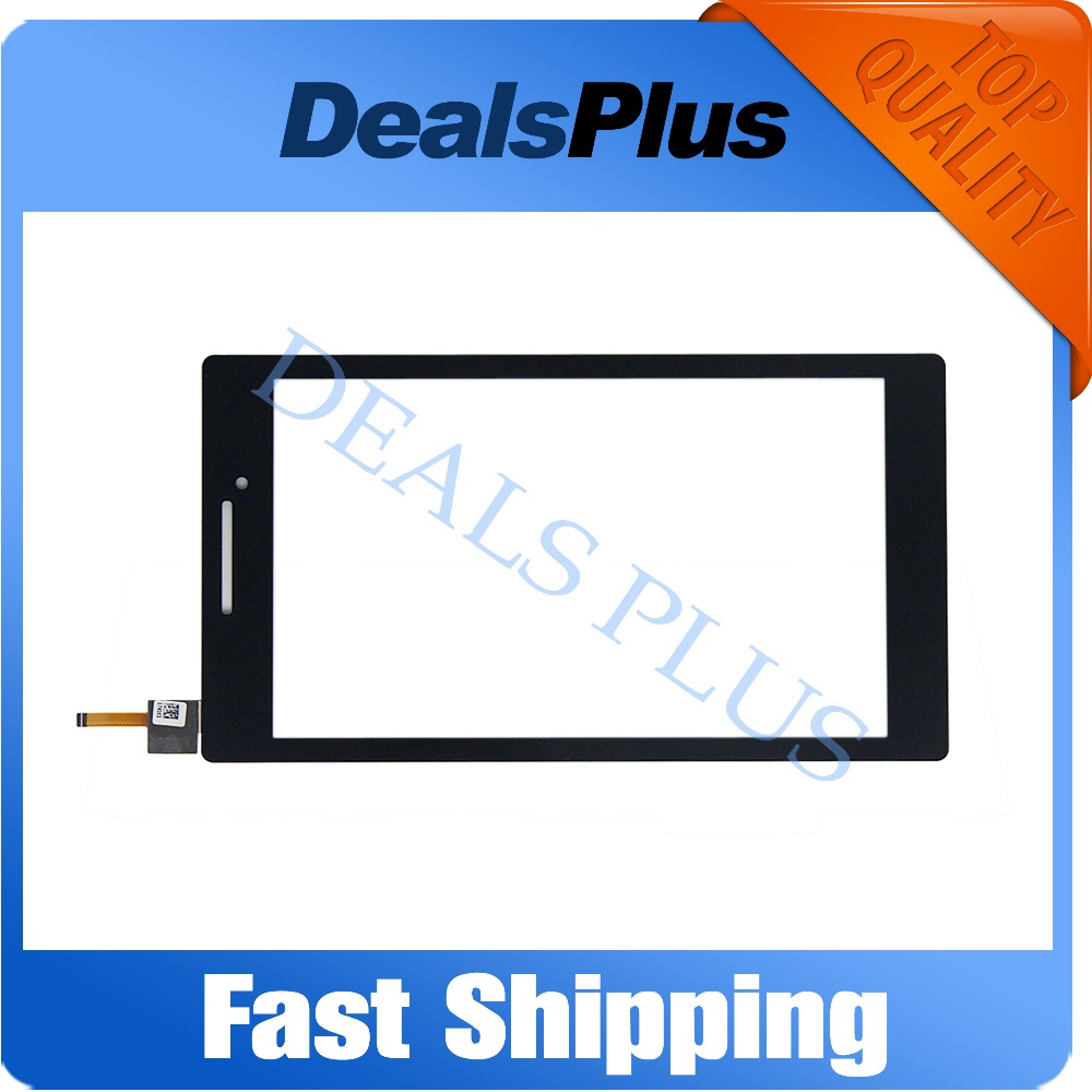 Replacement New Touch Screen Digitizer Glass For Lenovo Tab 2 A7-10 A7-10f A7-10F A7-20 A7-20F 7-inch Black Free Shipping new 7 inch touch screen digitizer for for acer iconia tab a110 tablet pc free shipping