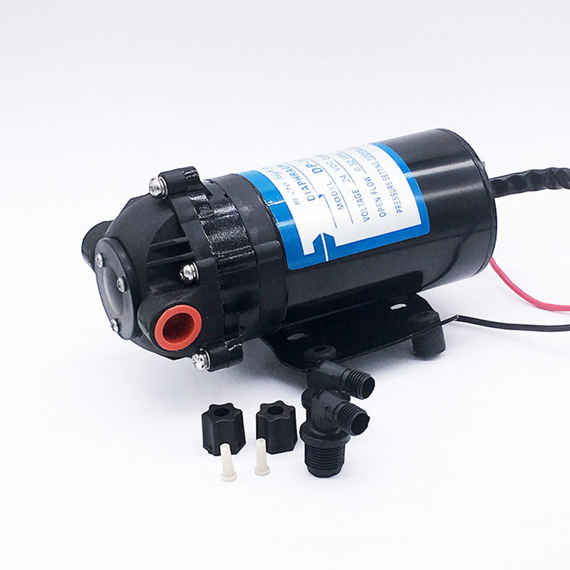 Mini Diaphragm Vacuum Water Pump DP-100 DC 24V CE Approved High Pressure Spray General Industrial Equipment RO System free shipping gz 35b 12 12 24v dc 160w double head diaphragm vacuum pump with 70l min vacuum flow