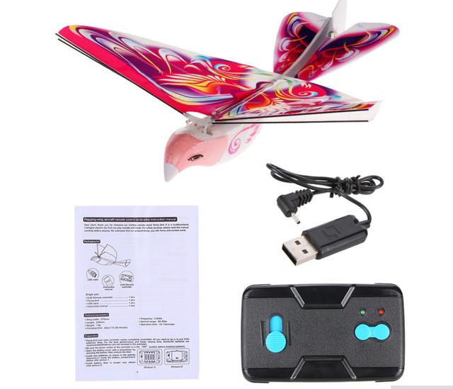 Mini rc Simulators toys for children with wireless radio remote control bird model toys for boys gift