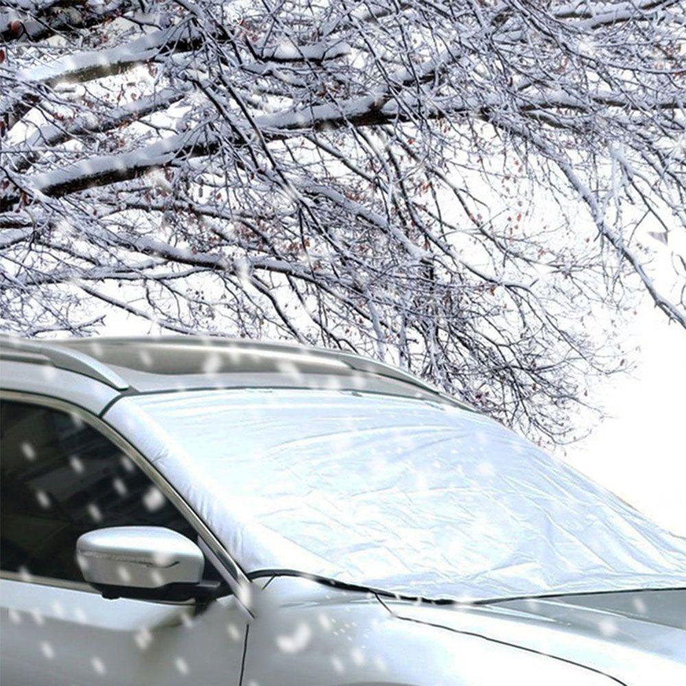 Hot Selling Winter Sneeuw Ijs Zonnescherm Stof Vorst Bevriezing Auto Voorruit Cover Protector Voorkomen Voorruit Shield Voorruit Gedistribueerd Worden Over De Hele Wereld