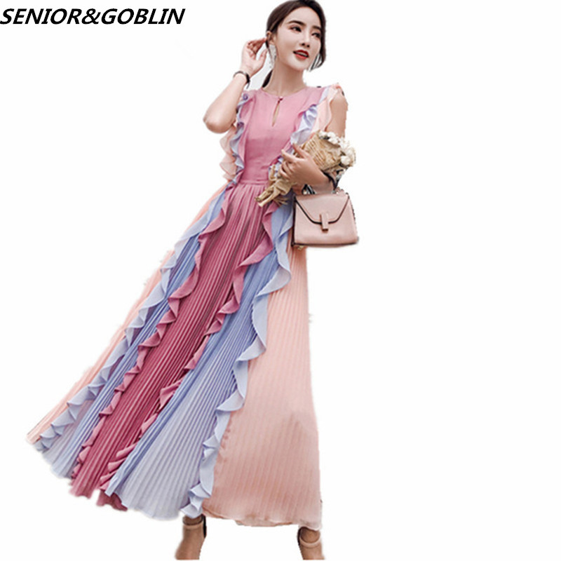 b175fd2a55735 2019 New High Quality First love skirt retro long lace ruffle Mesh ...