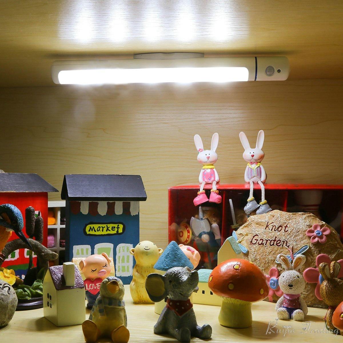Drahtlose Batteriebetriebene Licht Camping LED Kast Küchenschrank ...