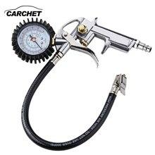 CARCHET Высокоточный цифровой датчик давления в шинах для автомобилей, мотоциклов, внедорожников, надутых насосов, сдутых инструментов для ремонта шин, пистолет давления