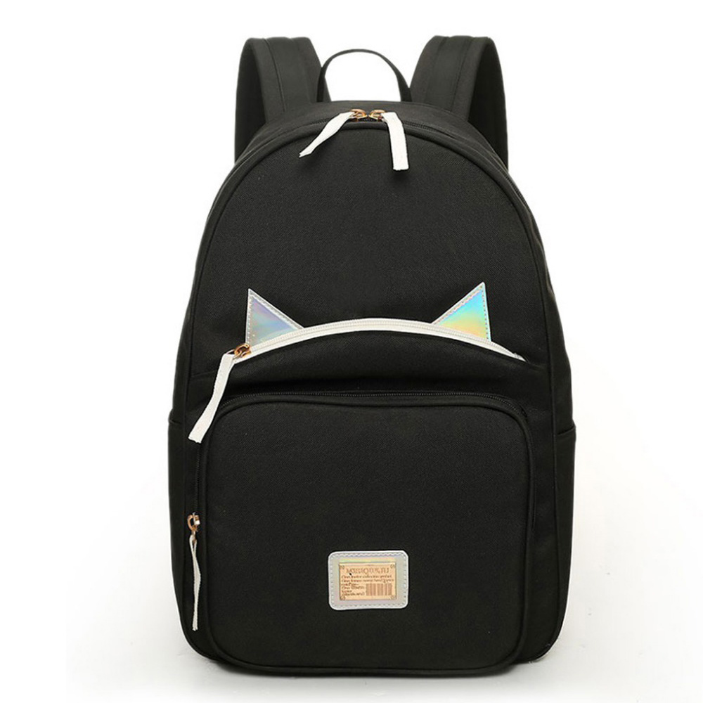 Hot Selling School Bags For Teenagers Mini Backpacks High Quality Canvas Japan and Korean Noctilucent Women Shoulders Bag 782
