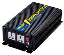 Power 1500W DC Input 12V 24V 48V AC Output 110V 220V Pure Sine Wave Grid Tie Inverter custom solar inverter