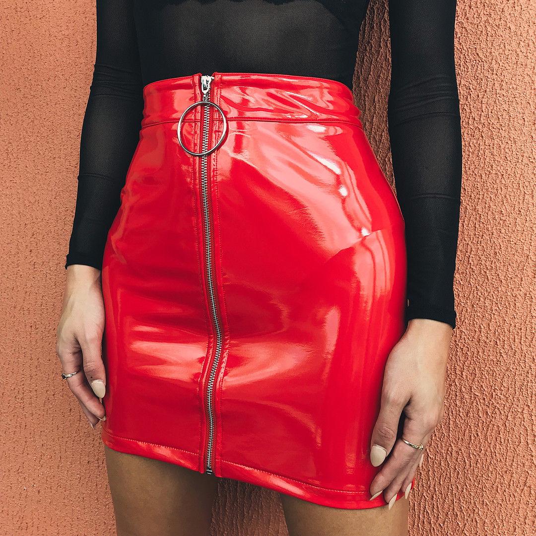 Primavera verão lápis saia feminina mini camurça saias sexy rendas saias com botão 2018 moda sólida cintura alta faldas