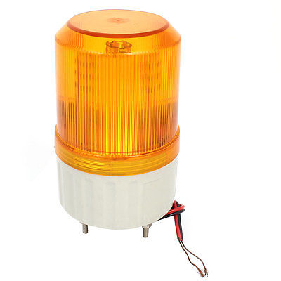 Yellow LED Flash Industrial Signal Tower Safety Stack Light DC 24V traffic signal light module 200mm diameter 8 inch yellow road safety light dc 12 v cheap led cluster