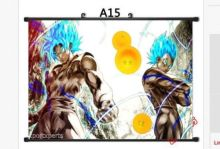 Dragon Ball Z Anime Poster Home Decor Wall Scroll gift (6 styles)