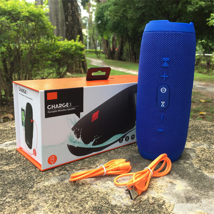 QINGRX Music Shock Wave Bluetooth Speaker Outdoor Wireless Stereo Hi Fi Portable Speaker Anti Splash Support