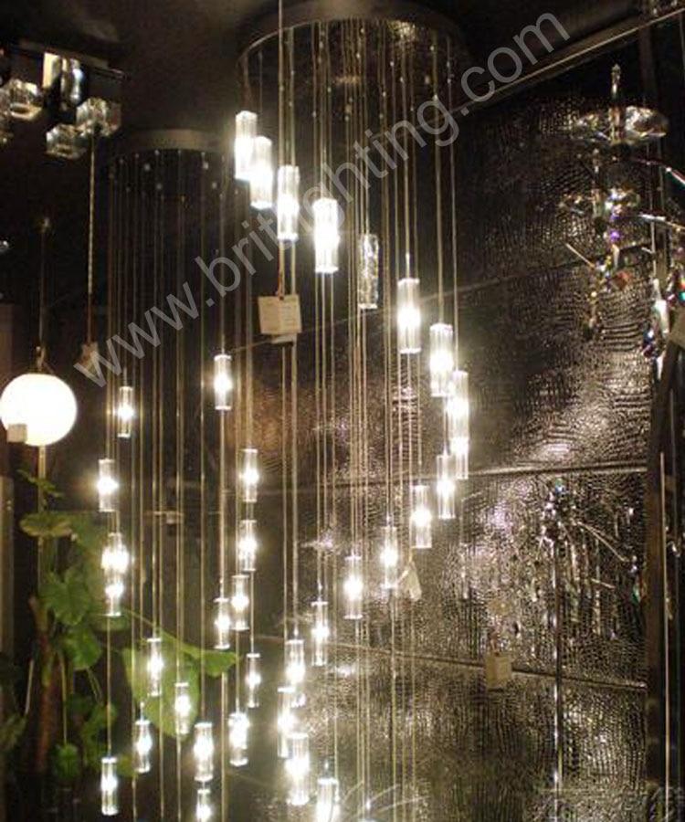 Aliexpress Kronleuchter Fhrte Moderne Wohnzimmer Lampen Kristall Led Lampe Treppe Beleuchtung Lange Spirale Licht