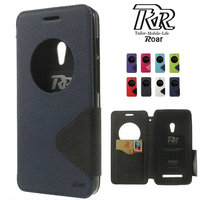 For Asus Zenfone 6 Case Roar Korea Diary Circle Window Stand Flip Leather Case Cover For