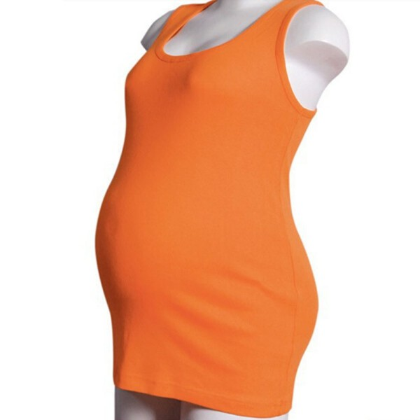 Summer Mummy Maternity Modal Vest Tank Top Camisole Pregnant Casual T-shirt