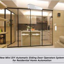 Новые мини DIY автоматические раздвижные двери операторская система для домашней автоматизации