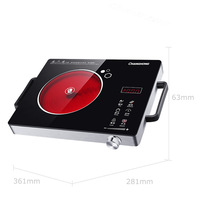 Infrared Induction Cooker Intelligent Oven Electric Wave Furnace Hot Pot Radiant Free Induction Cooker CDL 20F03C