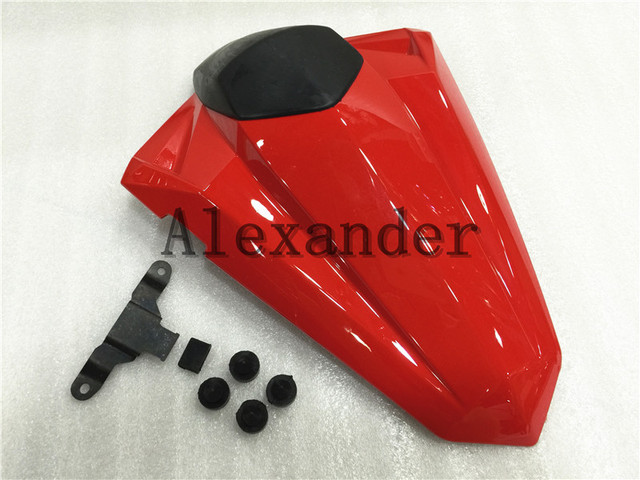 Red Motorcycle Rear Seat Cover Cowl Solo Motor Seat Cowl Rear For