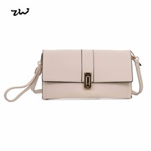 0df8d838c7 ZIWI 2017 Fashion Shoulder Bags For Women Solid Color Soft Leather Turer  Sell Small Size Clutch