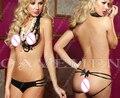 Atraente o nádegas nuas 3080 * ladies thongs g-string underwear calcinhas briefs t-voltar swimsuit bikini frete grátis