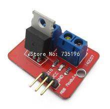1pcs 0-24V Top Mosfet Button IRF520 MOS Driver Module