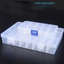 2pcs Electronic parts box Nut & Bolt Sets storage box can be