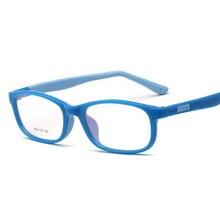 TR90 детские очки по рецепту для детей, сверхлегкие Силиконовые мягкие очки с амблиопии, спортивные оправы для очков для мальчиков и девочек, очки для младенцев