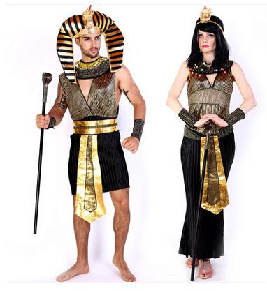 faran de egipto cosplay adulto hombre mujer trajes de disfraces de halloween hombres mujeres faran egipcio