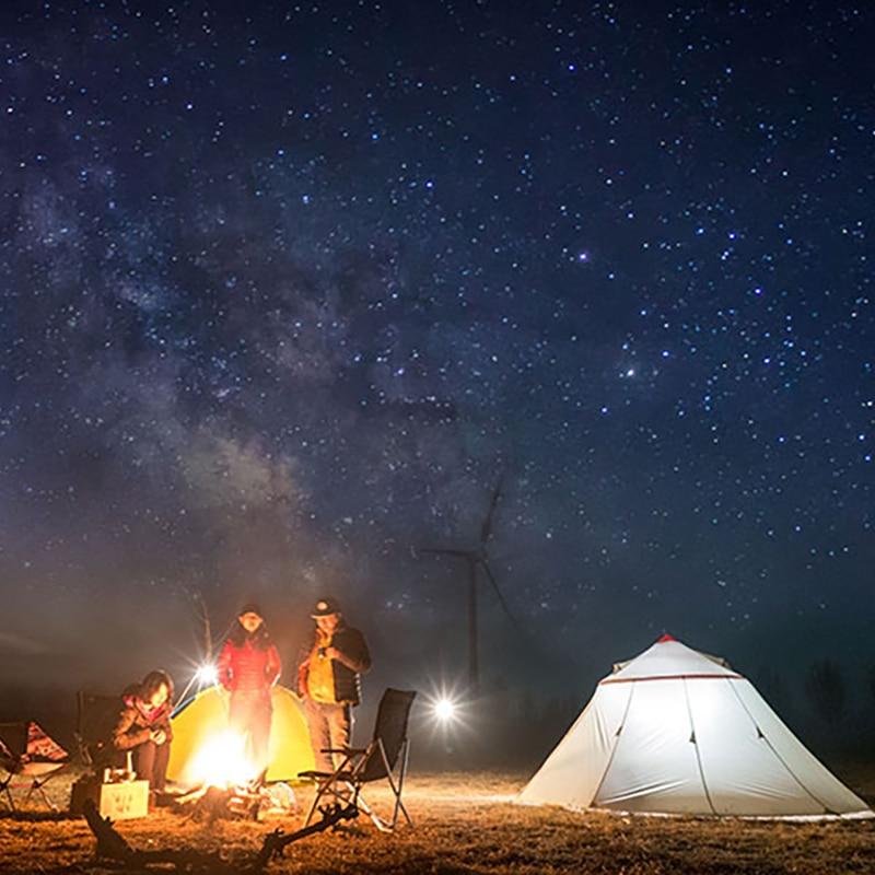 AstaGear Berg Haus Outdoor Camping Zelt Tragbare 6 Personen Familie Zelt 20D Silikon Stoff Wasserdichte Zelt Picknick Strand