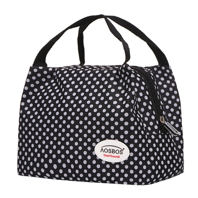 Dot Patterned Picnic Bag