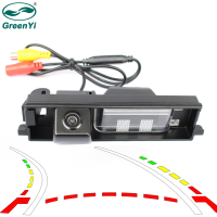 Intelligent Dynamic Trajectory Tracks Rear View Camera Backup Reverse Parking Camera For Toyota RAV4 RAV 4 2000 2012