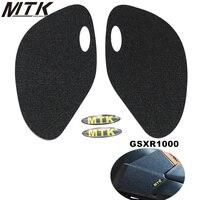 For Suzuki GSXR1000 GSX R GSXR 1000 GSX R1000 K7Fuel tank pad side protector tank antislip stickers