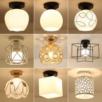 Simple modern creative personality Led ceiling lights plafond lamp for home living room lights ceiling light fixture Aisle lamp